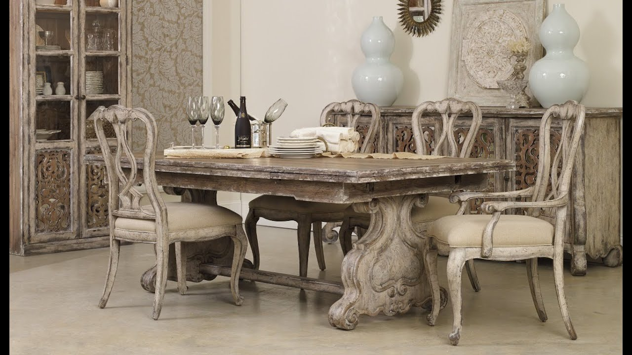 Chatelet Dining Room (5300) By Hooker Furniture   YouTube