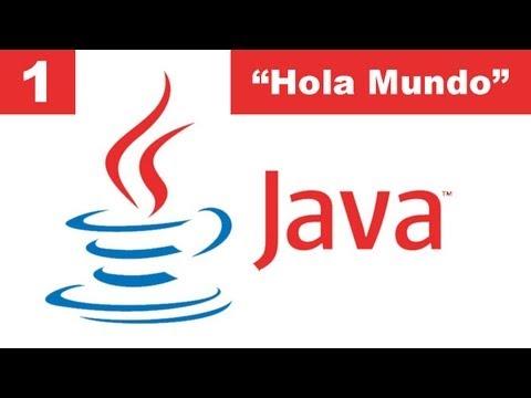 """Tutorial Java - 1. Introducción y Primer Programa """"Hola Mundo"""""""