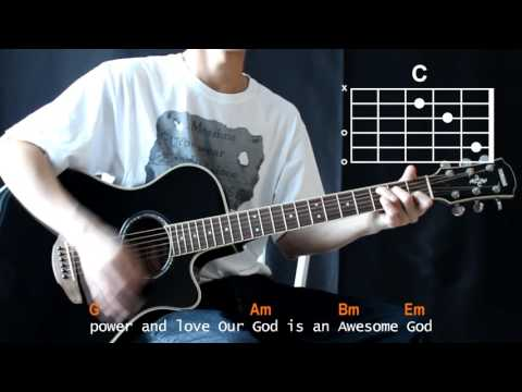Michael W. Smith - Awesome God Cover With Guitar Chords Lesson