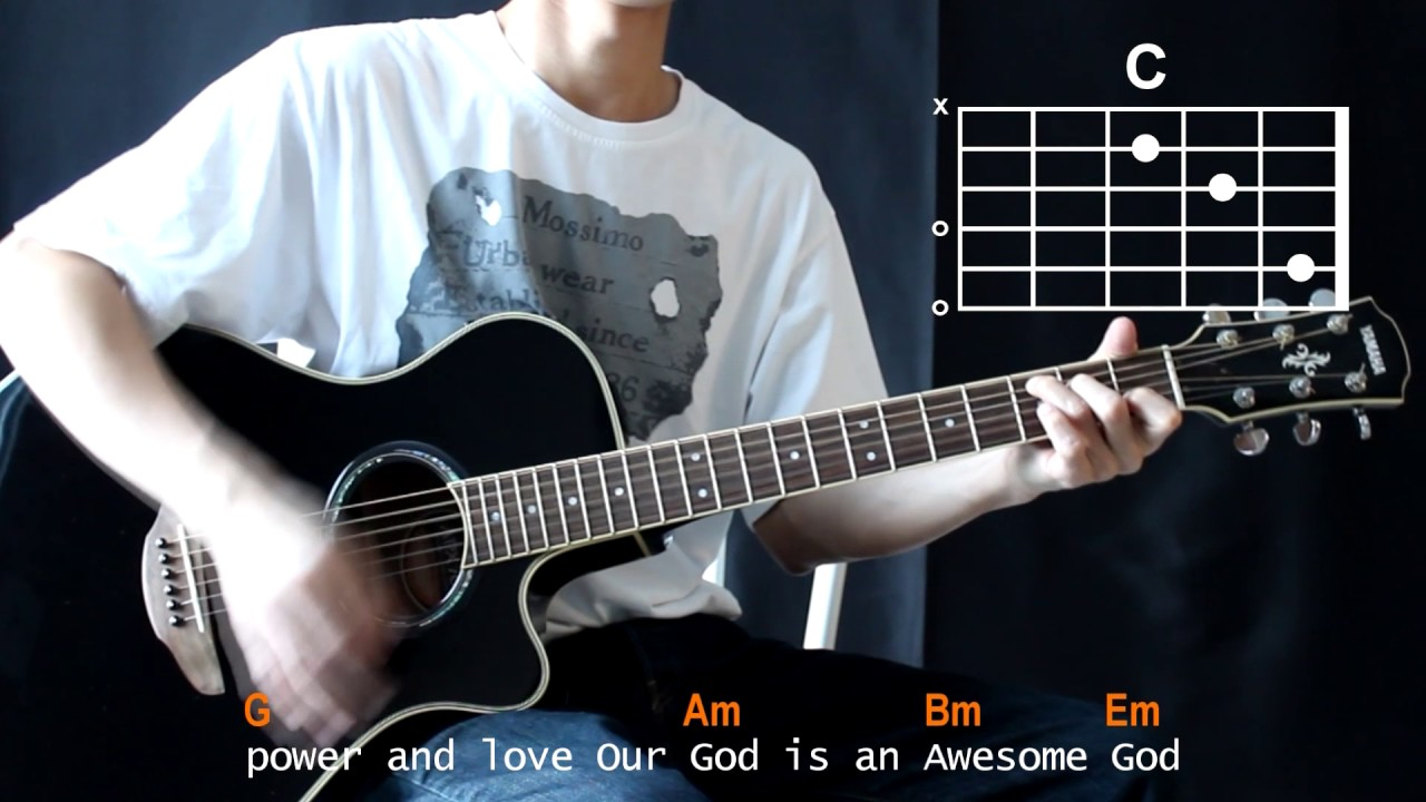 michael w smith awesome god cover with guitar chords lesson youtube. Black Bedroom Furniture Sets. Home Design Ideas