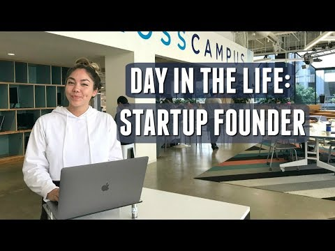 Day in the Life of a Startup Founder | First Day of Incubator!