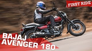 Video 2018 Bajaj Avenger 180 Street - 5 Things you need to know | First Ride Review | ZigWheels.com download MP3, 3GP, MP4, WEBM, AVI, FLV Agustus 2018