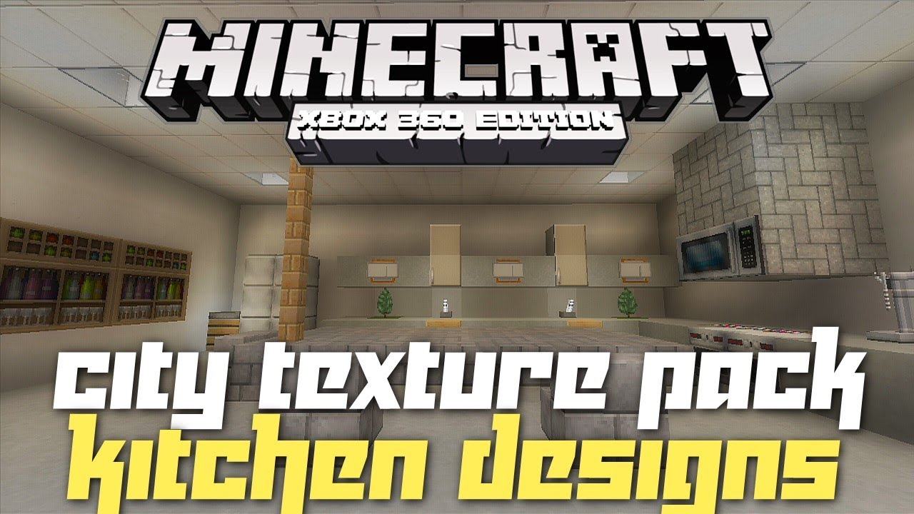 Kitchen Ideas In Minecraft minecraft xbox 360: kitchen inspiration and ideas! (city texture