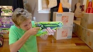 Precision RBS  versus Nerf accuracy challenge