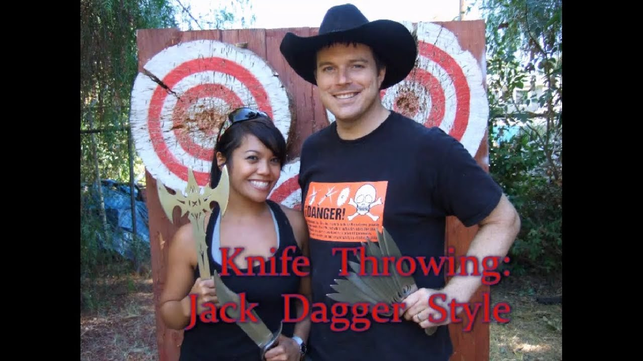 My Lesson in Knife Throwing-- The Jack Dagger Method