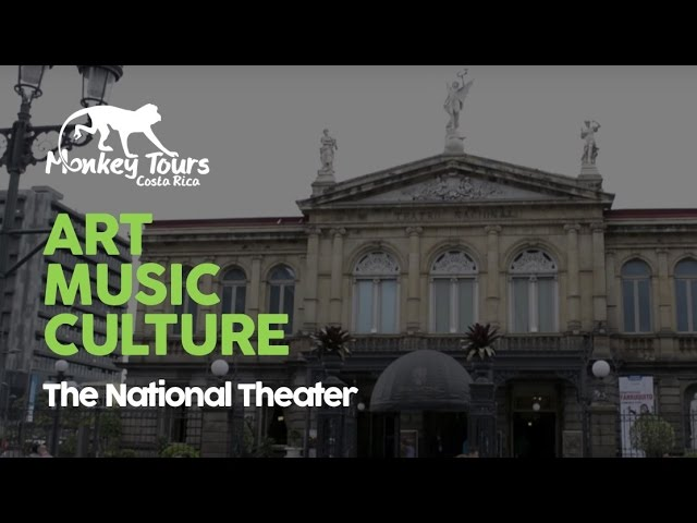 The National Theater of Costa Rica in San Jose