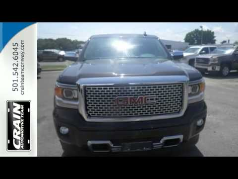 2015 gmc sierra 1500 conway ar little rock ar 5gt6585 sold youtube. Black Bedroom Furniture Sets. Home Design Ideas