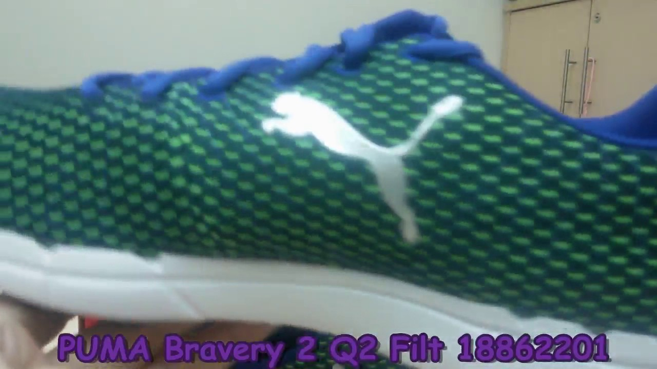 Unboxing Review sneakers PUMA Bravery 2 Q2 Filt 18862201 - YouTube 0b569368a