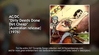 AC/DC - R.I.P. (Rock in Peace) [Track 7 from Dirty Deeds Done Dirt Cheap [Australian release]] (1976