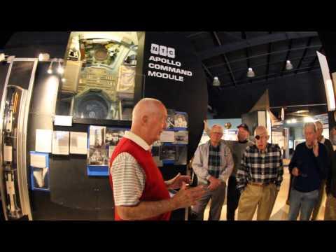 Astronaut Jim McDivitt at Pima Air and Space Museum