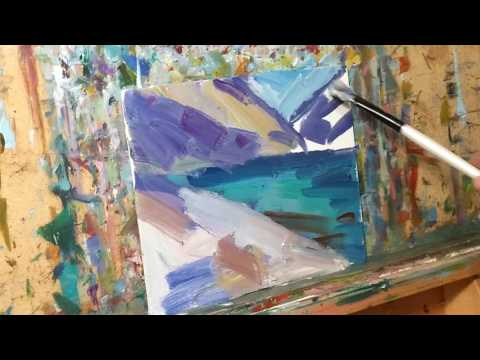Modern Oil Painting Demo by Artist Jose Trujillo – Alla Prima – Oil on Canvas