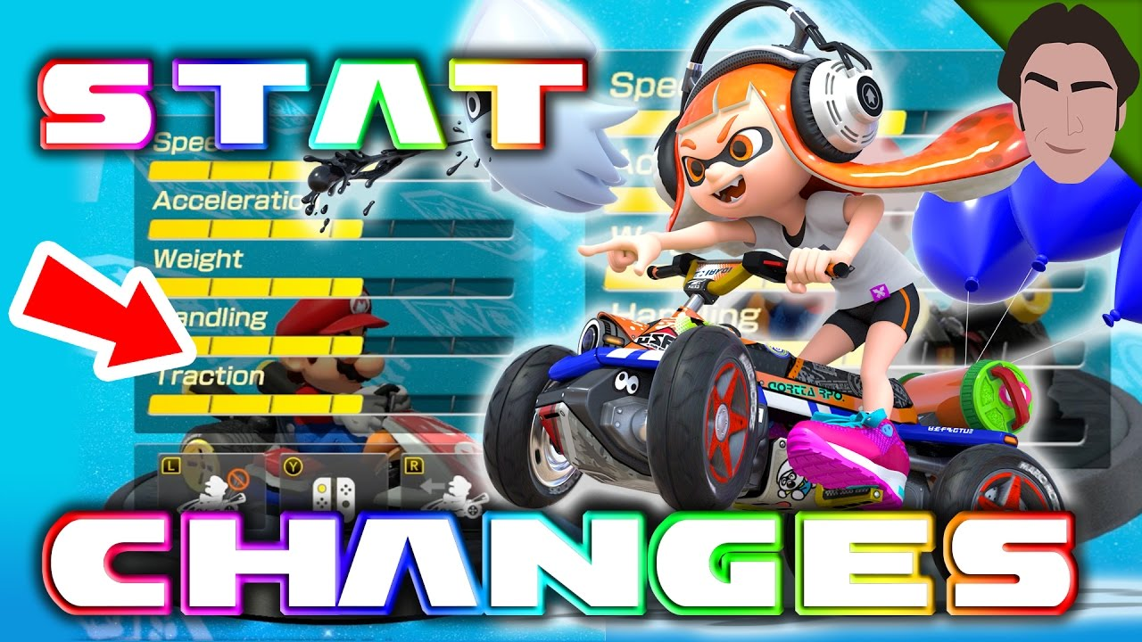 stat kart NEW Character Stats and Weight Classes!   Mario Kart 8 Deluxe  stat kart