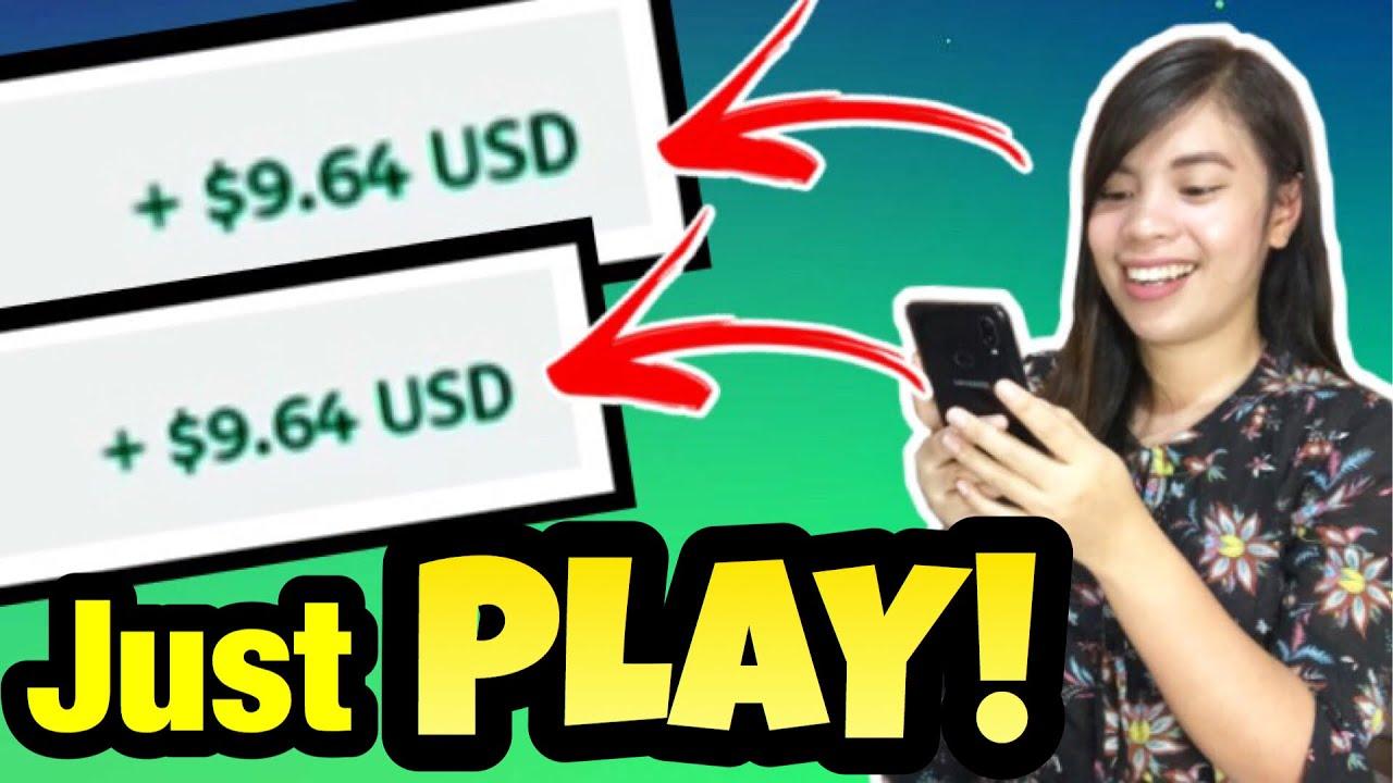 PLAY & EARN: UNLI $10 | KUMITA GAMIT ANG CELLPHONE AT KAHIT NASA BAHAY LANG! LEGIT APP | With Proof!