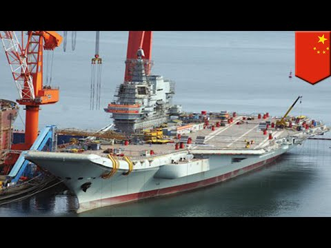 First made-in-China aircraft carrier set to go on sea trial - TomoNews