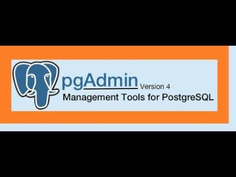 PgAdmin4 Installation And PostgreSQL DB Connection