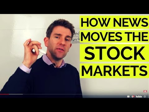 Why Do Current Events/News Impact the Stock Markets? 😮