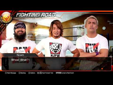 nL Live - Fire Pro Wrestling World PS4: Fighting Road Story Mode [PART 2]
