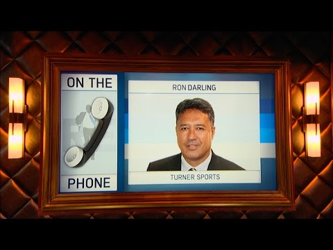 MLB on TBS Analyst Ron Darling on Talks MLB Playoffs & More - 10/17/16