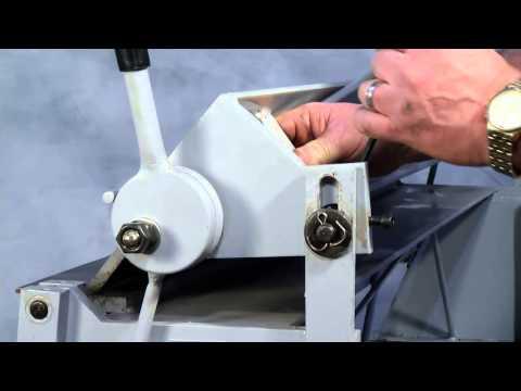 Woodward Fab WFBP4816 Sheet Metal Box Pan Brake 48 in