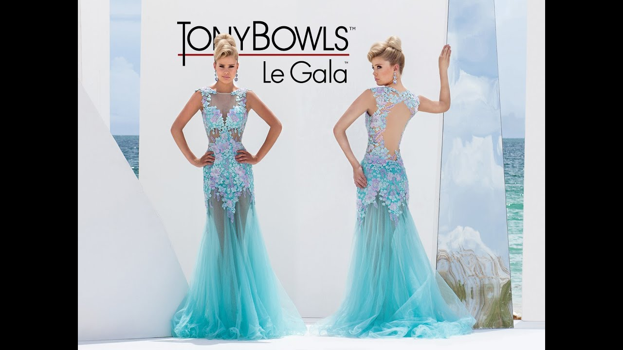 Tony Bowls Le Gala 115524 at Peaches Boutique, Chicago, IL - YouTube