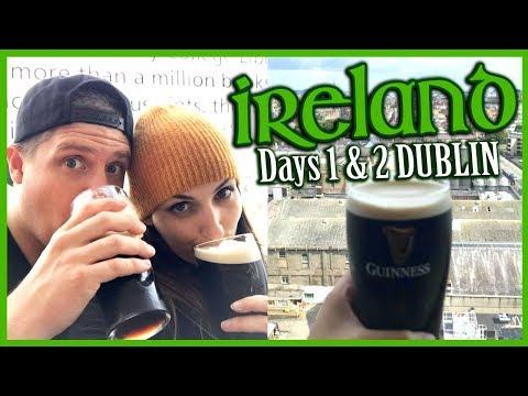 Ireland Travel Vlog | Day 1 & 2 DUBLIN (Guinness Storehouse, Clontarf Castle & St Patrick's)