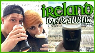 Ireland Travel Vlog | Day 1 & 2 DUBLIN (Guinness Storehouse, Clontarf Castle & St Patrick's)