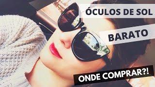 Óculos de sol barato - Onde comprar - zeroUV Review