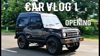 Video #CAR VLOG PERTAMA | REVIEW MOBIL PRIBADI ASAL JADI |suzuki jimny katana 2002 download MP3, 3GP, MP4, WEBM, AVI, FLV September 2018
