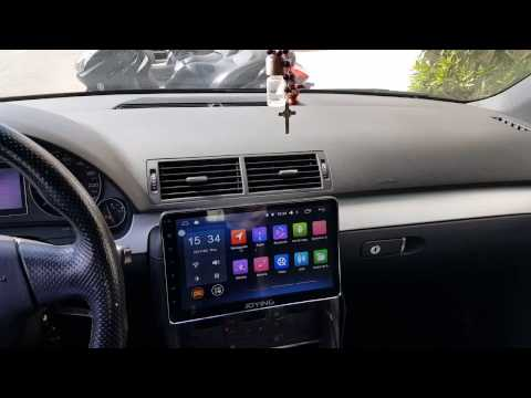 Joying single 1din 10 1'' 2 GB + 32 GB Android Car Stereo Autoradio GPS player installed in Audi A4