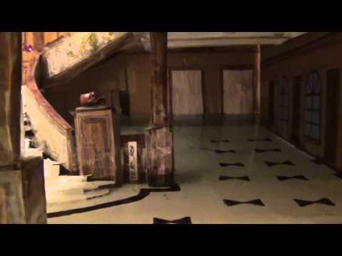 Titanic Grand Staircase model flooding