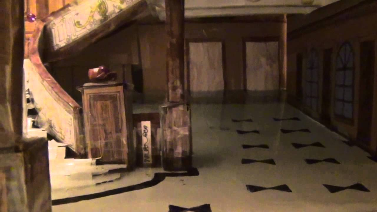 Titanic Grand Staircase Model Flooding Youtube