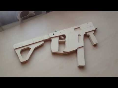 how to build a rubber band gun easy