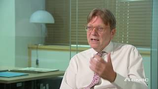 Guy Verhofstadt: There is a fear that Brexit hardliners don