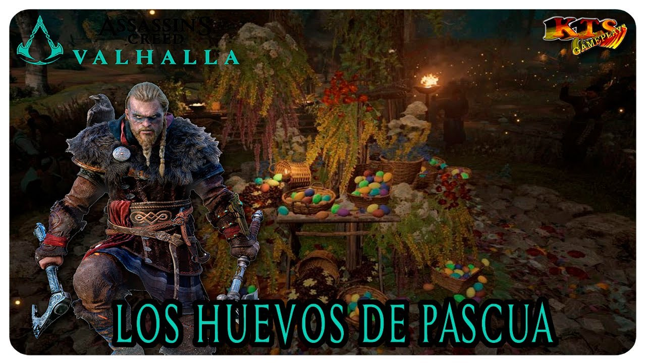 ASSASSIN´S CREED VALHALLA. | #229: LOS HUEVOS DE PASCUA. [EVENTO FESTIVO]