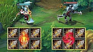 LETHAL TEMPO vs HAIL OF BLADES DRAVEN! WHICH RUNE IS BETTER?