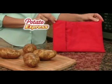 Potato Express Commercial As Seen On Tv Microwave Sack Blog