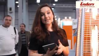 Видео обзор уличный газовый инфракрасный обогреватель Enders серии Pyramide