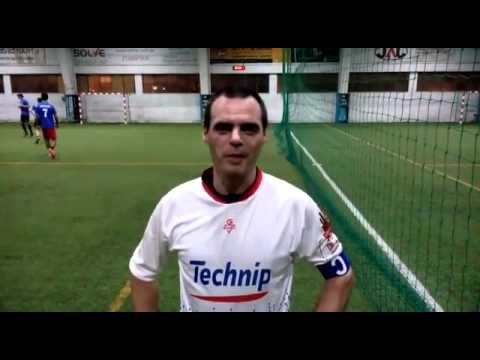 Oil & Gas Soccer League 2016: Subsea 7 (1) vs (3) LusoTechnip - Victor Duarte (LusoTechnip)