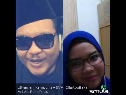SMULE - Aci Aci Buka Pintu - P.Ramlee & SalOma cOver by Qila Abu Bakar & Fairuz Misran