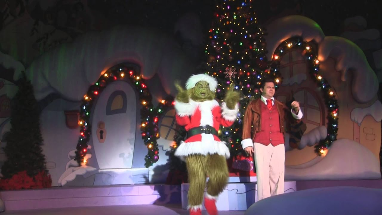 dr seusss how the grinch stole christmas at universal orlando - How The Grinch Stole Christmas Youtube