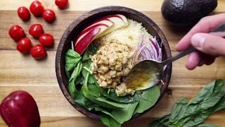 Chickpea Buddha Bowl I The Buddhist Chef