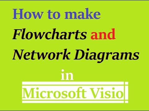 How To Create Flowchart Network Diagram Easily In Microsoft Visio