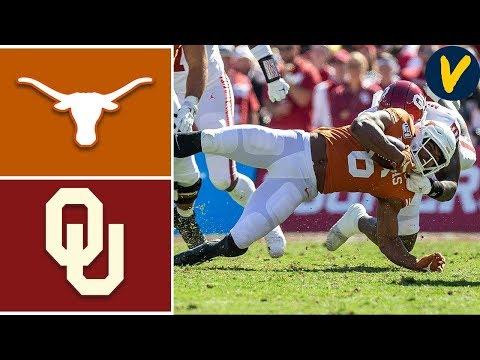 #6 Oklahoma Vs #11 Texas   Week 7   College Football Highlights   2019