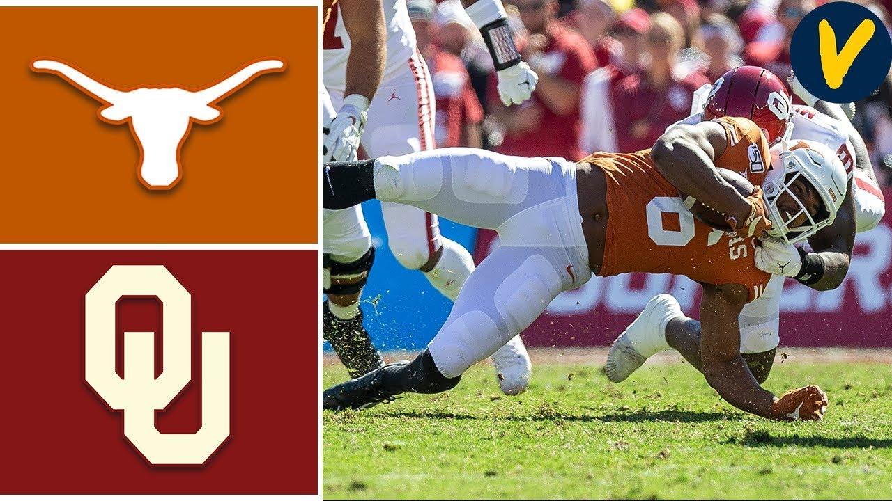 #6 Oklahoma vs #11 Texas | Week 7 | College Football Highlights | 2019