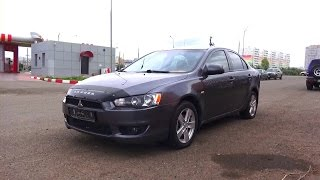 2008 Mitsubishi Lancer. Start Up, Engine, and In Depth Tour.