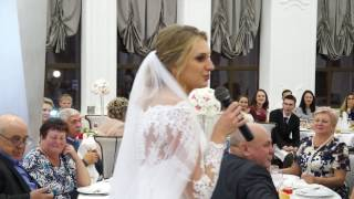 Невеста читает стихи мамам, очень трогательно
