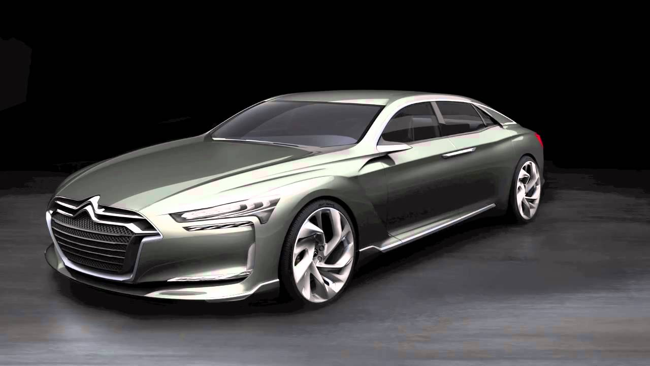 Citroen Metropolis (DS9) First Images Slideshow - YouTube
