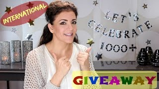 1,000+ Subscriber Giveaway ┃International (CLOSED)