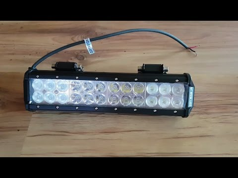 ATV LED Light Bar Review, Installation and Testing