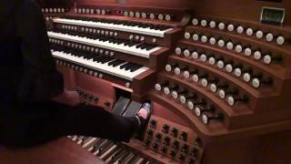パイプオルガン(C.B.フィスク Op.110) レジストレーション
